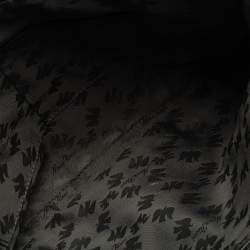 Nina Ricci Black Leather Chain Tote