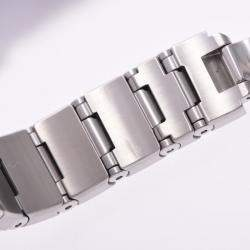 Omega Silver Stainless Steel Constellation 123.10.24.60.02.001 Women's Wristwatch 24 MM