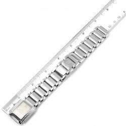 Patek Philippe Silver Diamonds 18K White Gold Twenty-4 4908 Women's Wristwatch 22 x 26 MM