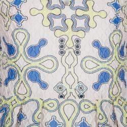 Peter Pilotto Multicolor Print Sleeveless Top S