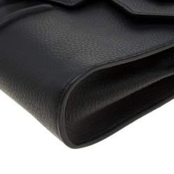 Philipp Plein Black Leather Hannah Shoulder Bag