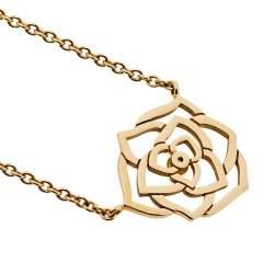 Piaget Rose Diamond 18k Rose Gold Pendant Necklace