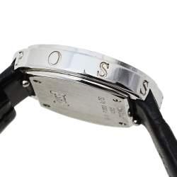 ساعة يد نسائية بياجيه بوزيسشن ألماس GOA36187 ذهب أبيض عيار 18 فضية 29 مم