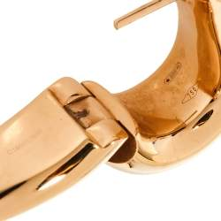 Pomellato Iconica 18K Rose Gold Hoop Earrings