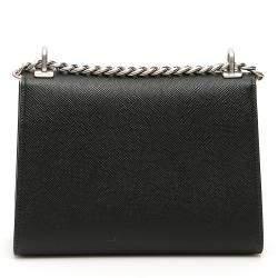 Prada Black Leather Monochrome Bag