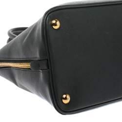 حقيبة برادا بروموناد جلد سافيانو فاخر أخضر