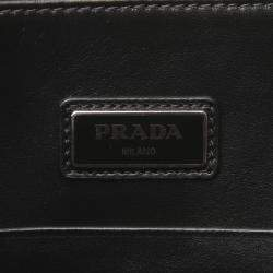 Prada Blue Saffiano Leather Document Case