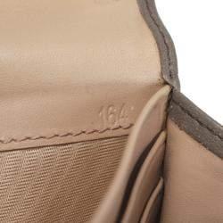 Prada Brown Leather Long Wallet