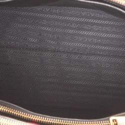 Prada Black Leather Paradigme Tote Bag