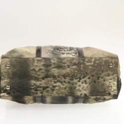 Prada Green Nylon Shoulder Bag