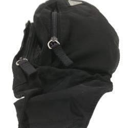 Prada Black Nylon Tessuto Waist Bag