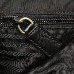 Prada Black Nylon Tessuto Shoulder Bag