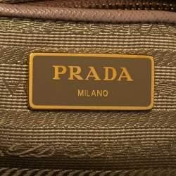 Prada  Cameo Saffiano Lux Leather Large Galleria Tote