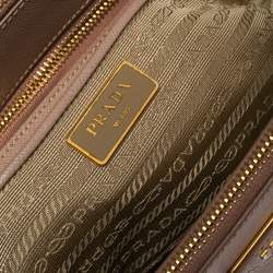 Prada Dusty Pink Saffiano Lux Leather Medium Galleria Tote