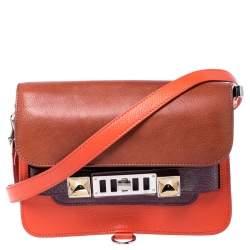 Proenza Schouler Multicolor Leather Mini Classic PS11 Shoulder Bag