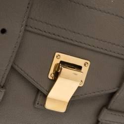 Proenza Schouler Dark Beige Leather Ps1 Wallet on Chain