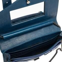 Proenza Schouler Blue Leather PS1 Crossbody Bag