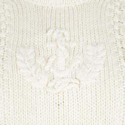 Ralph Lauren Cream Chunky Knit Sweater L