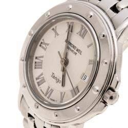 Raymond Weil Silver Stainless Steel Tango 5630 Women's Wristwatch 39 mm