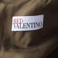 Red Valentino Multicolor Floral Lurex Jacquard Knit Sleeveless Dress M