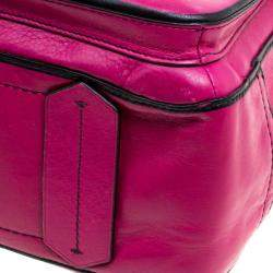 Reed Krakoff Magenta Leather Boxer Tote