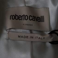 Roberto Cavalli Firenze Off White Tailored Blazer S