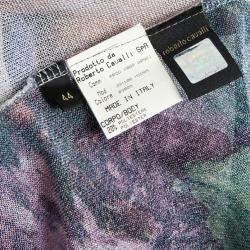 Roberto Cavalli Floral Print Sweater M