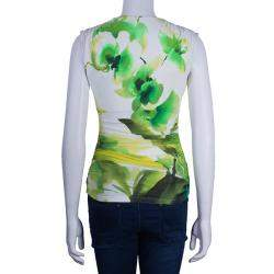 Roberto Cavalli Multicolor Sleeveless Top S