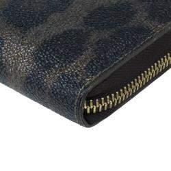 Roberto Cavalli Leopard Print Wallet
