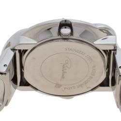 Roberto Cavalli Silver Stainless Steel Snake R7253165515 Women's Wristwatch 37 mm