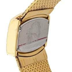 """ساعة يد نسائية روبرتو كافالي """"ايليسي أر7253114617"""" ستانلس ستيل ذهبي 40 مم"""