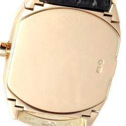 Rolex White 18K Yellow Gold Cellini Cellissima 6631 Women's Wristwatch 24x35 MM