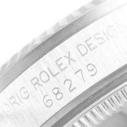 Rolex Silver 18K White Gold and Diamond President Datejust 68279 Women's Wristwatch 31MM