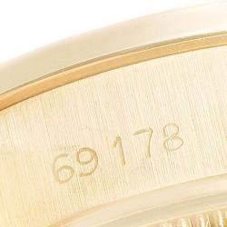 Rolex Ivory 18K Yellow Gold President Datejust 69178 Women's Wristwatch 26MM