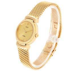 Rolex Champagne 18K Yellow Gold Cellini 6621 Women's Wristwatch 26 MM