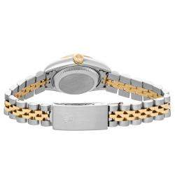 Rolex Champagne Diamonds 18kYellow Gold And Stainless Steel Datejust 79173 Women's Wristwatch 26 MM