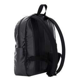 حقيبة ظهر سان لوران شعار نوكس نايلون سوداء