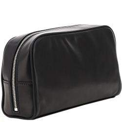 حقيبة صغيرة سان لوران كامب كاميرا جلد خروف سوداء
