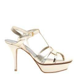 Saint Laurent Tribute Sandals Size EU 37