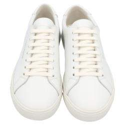 Saint Laurent White Andy low-top Sneakers Size EU 36