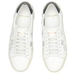 Saint Laurent Court Classic SL/06 Metallic California Sneakers Size IT 36