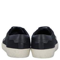 Saint Laurent Paris Black Court Classic SL/06 Low Top Sneakers Size EU 35