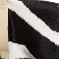 Yves Saint Laurent Black Leather Mini Mombasa Hobo