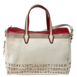 Saint Laurent Multicolor Leather Sac Flirty Boston Bag