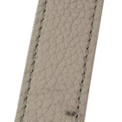 حقيبة يد سان لوران ساك دو جور سوبل صغيرة جلد رصاصي