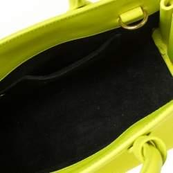 حقيبة سان لوران  ساك دي جور أخضر نيون كلاسيك