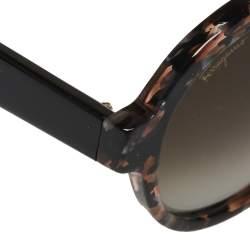 نظارة شمسية سالفاتوري فيراغامو SF878S  بني هافانا/بني متدرجة مستديرة