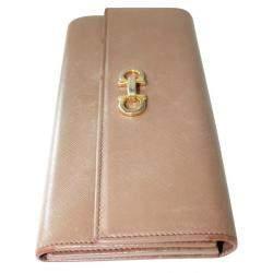 Salvatore Ferragamo Brown Leather Wallet