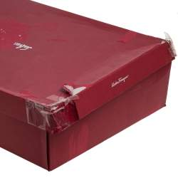 Salvatore Ferragamo Black Leather Leon Knee Length Boots Size 38.5