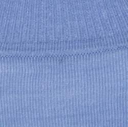 St. John Lavender Wool Blend Rib Knit High Neck Top L